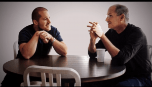 jony ive charlie rose steve jobs