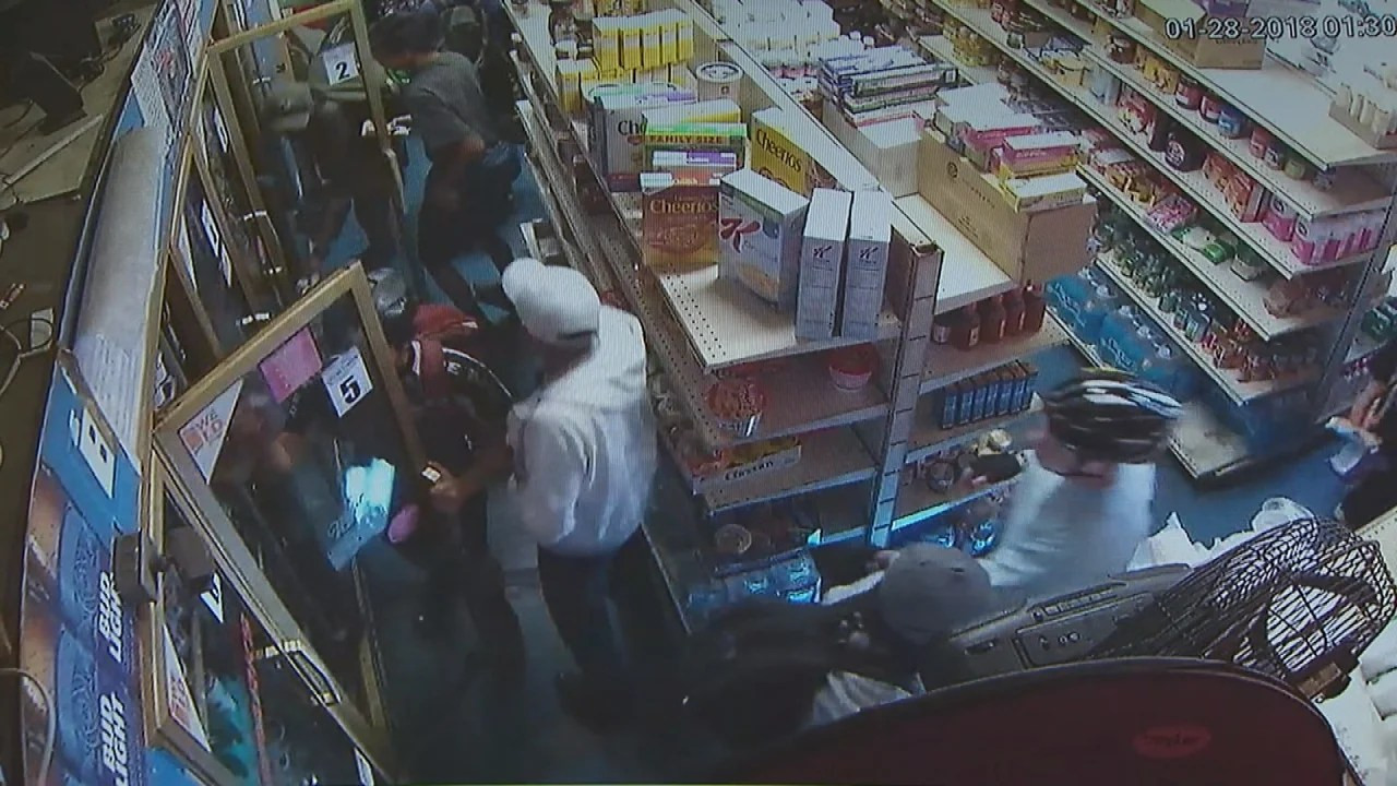 Mob of Bicycle Riders Loot Store as Clerk Watches Helplessly Cops  Inside Edition