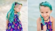mom defends dyeing 6-year- daughter's