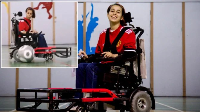 Teen With Cerebral Palsy Becomes First Girl on Soccer