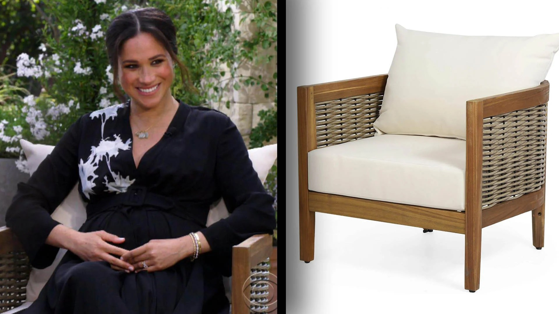 'Peter Brady' $554 Chairs Sell Out After Oprah's Harry and Meghan Interview | Inside Edition