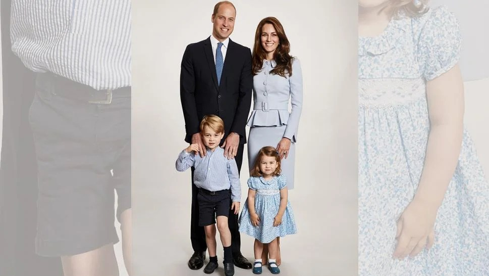 Prince William And Duchess Kate Reveal Royal Holiday Card With Children George And Charlotte