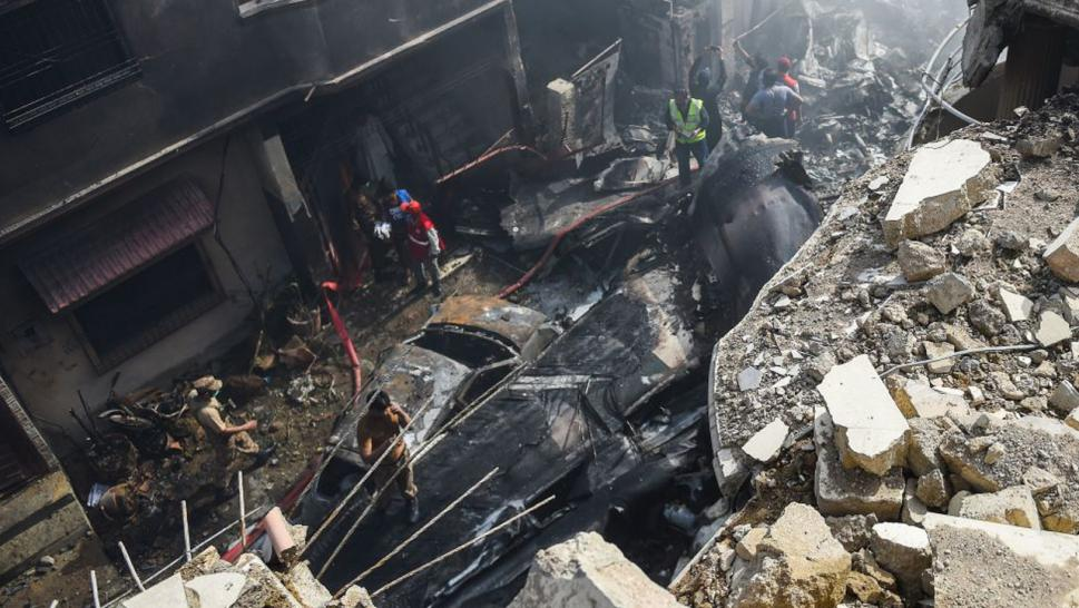 At Least 2 Out Of 99 Survive Plane Crash In Residential