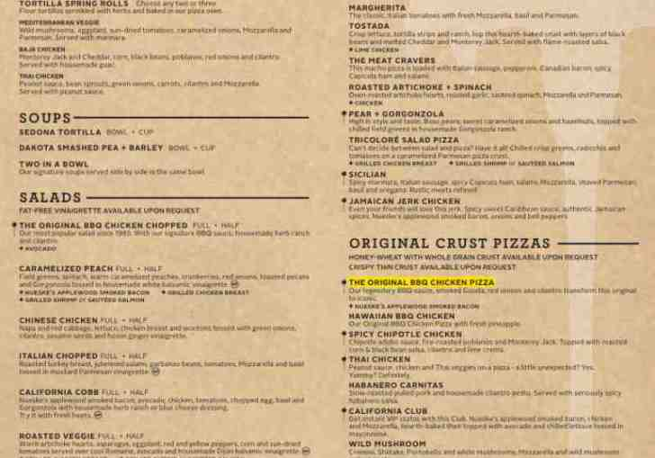 California Pizza Kitchen Coupons