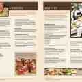 Check with restaurant for latest menu and prices