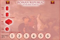 Gallic Wars COIN AvailForces (Rome)