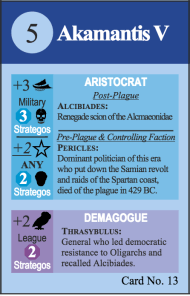 Pericles Alcibiades Card