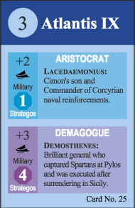 Pericles Demosthenes Leader Card