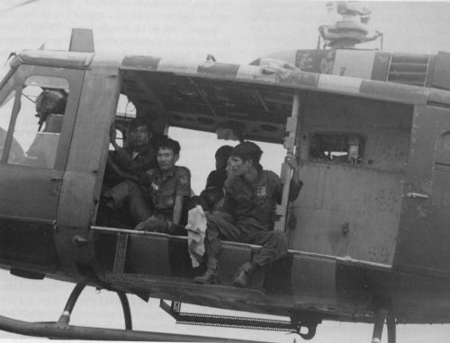 Air lifting ARVN.
