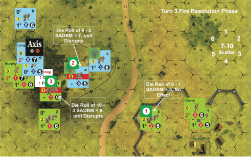 Turn 3 Fire Resolution Phase