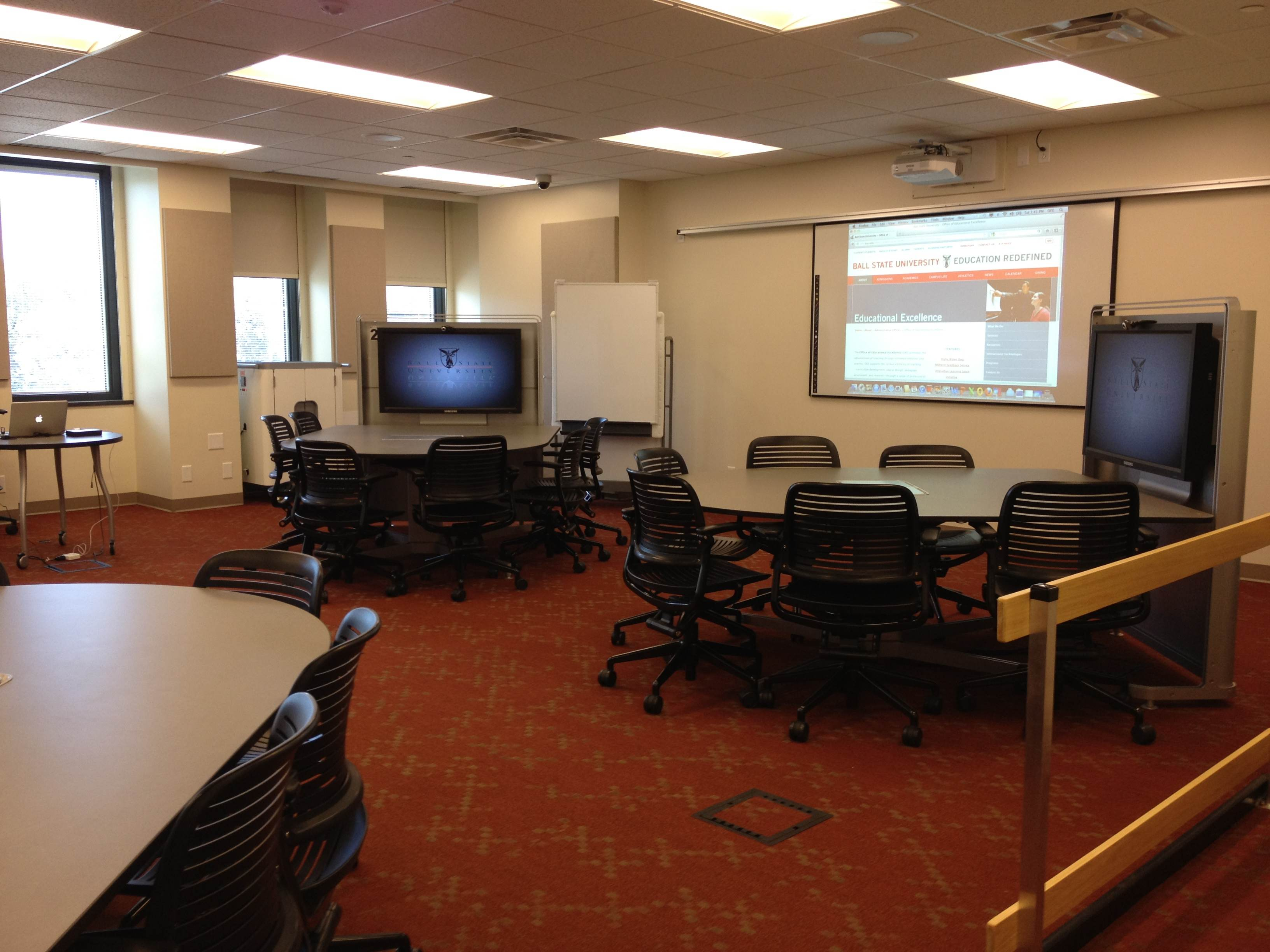 ball chairs for students roman chair abs 'interactive learning spaces' at the center of state u.'s faculty development program