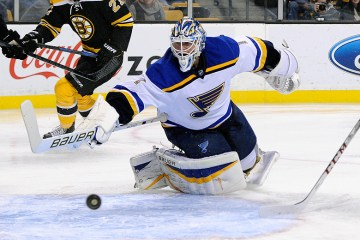 St. Louis Blues Goalie Brian Eliott by Brian Fluharty