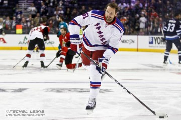 New York Rangers' Rick Nash.