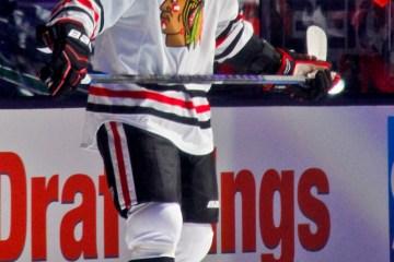 Chicago Blackhawks' Jonathan Toews.