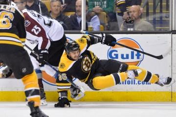 Boston Bruins center Zac Rinaldo (36)