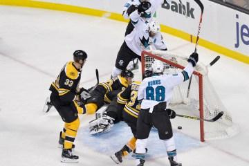 San Jose Sharks at Boston Bruins.