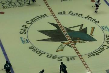 San Jose Sharks vs. Arizona Coyotes Preseason Game - Sept. 30, 2016.