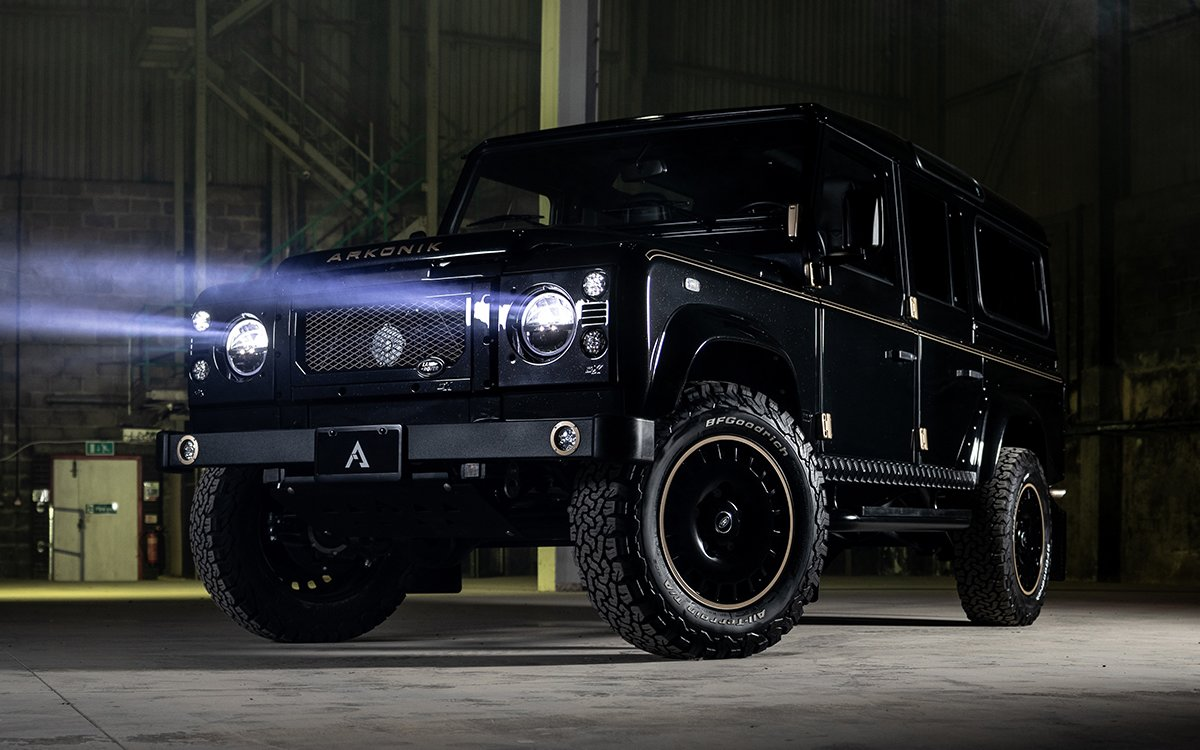 the best thing about arkonik s 10th anniversary defender it s for sale  [ 1200 x 750 Pixel ]