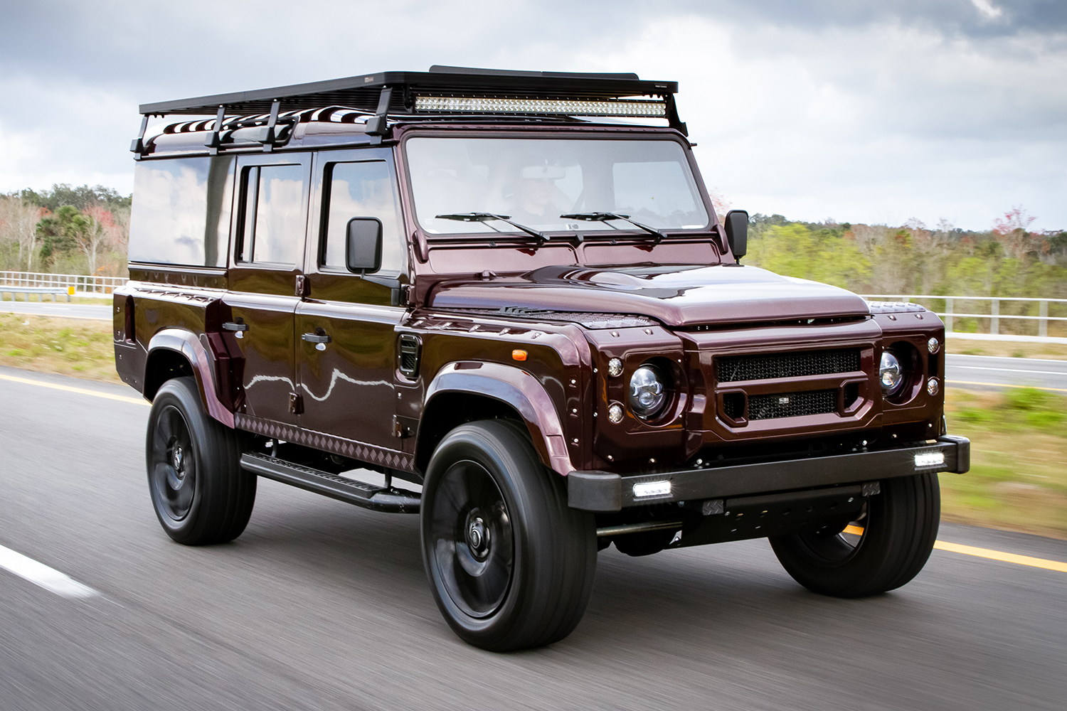 small resolution of project camper is a custom land rover defender d110