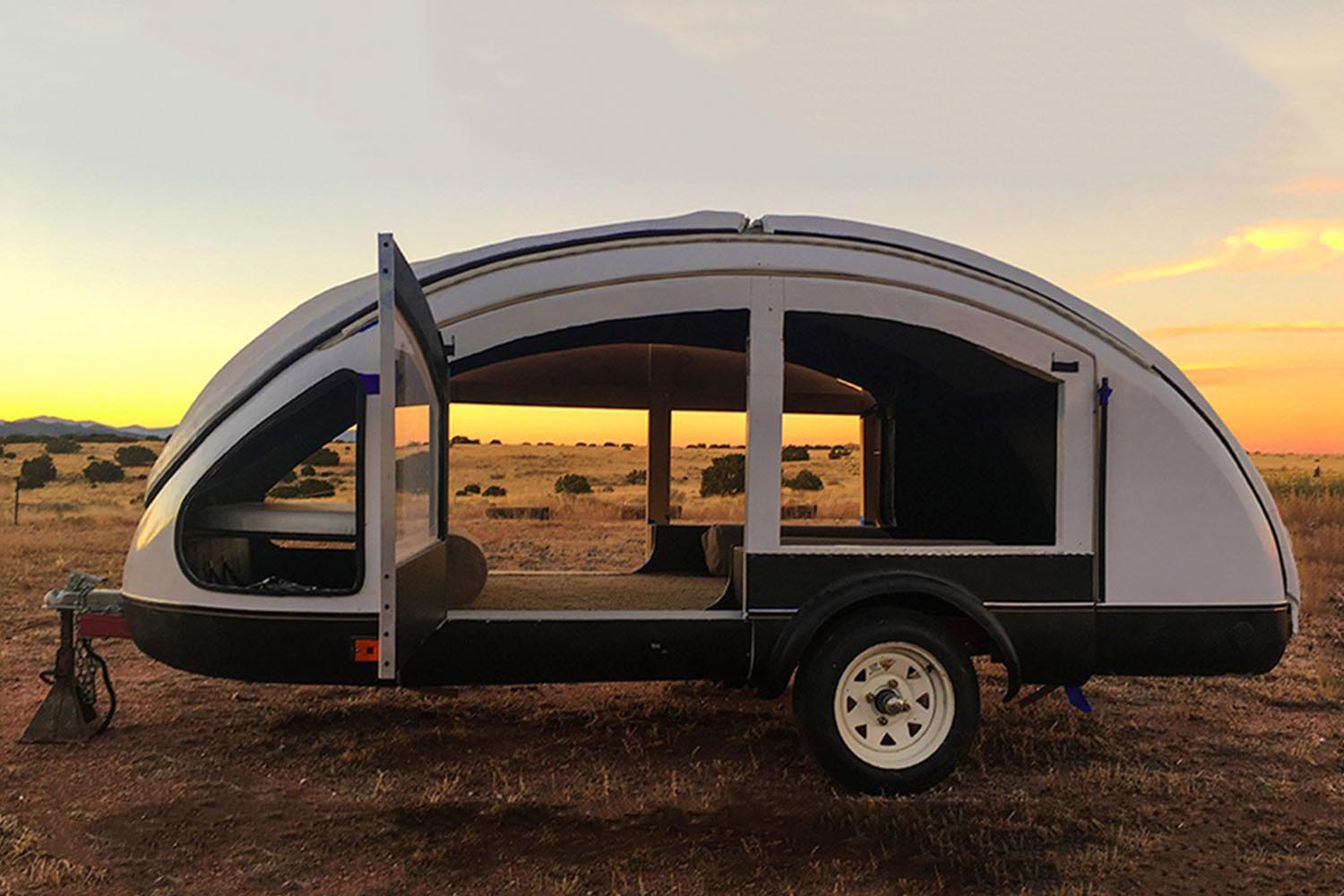 lightweight camping trailers are