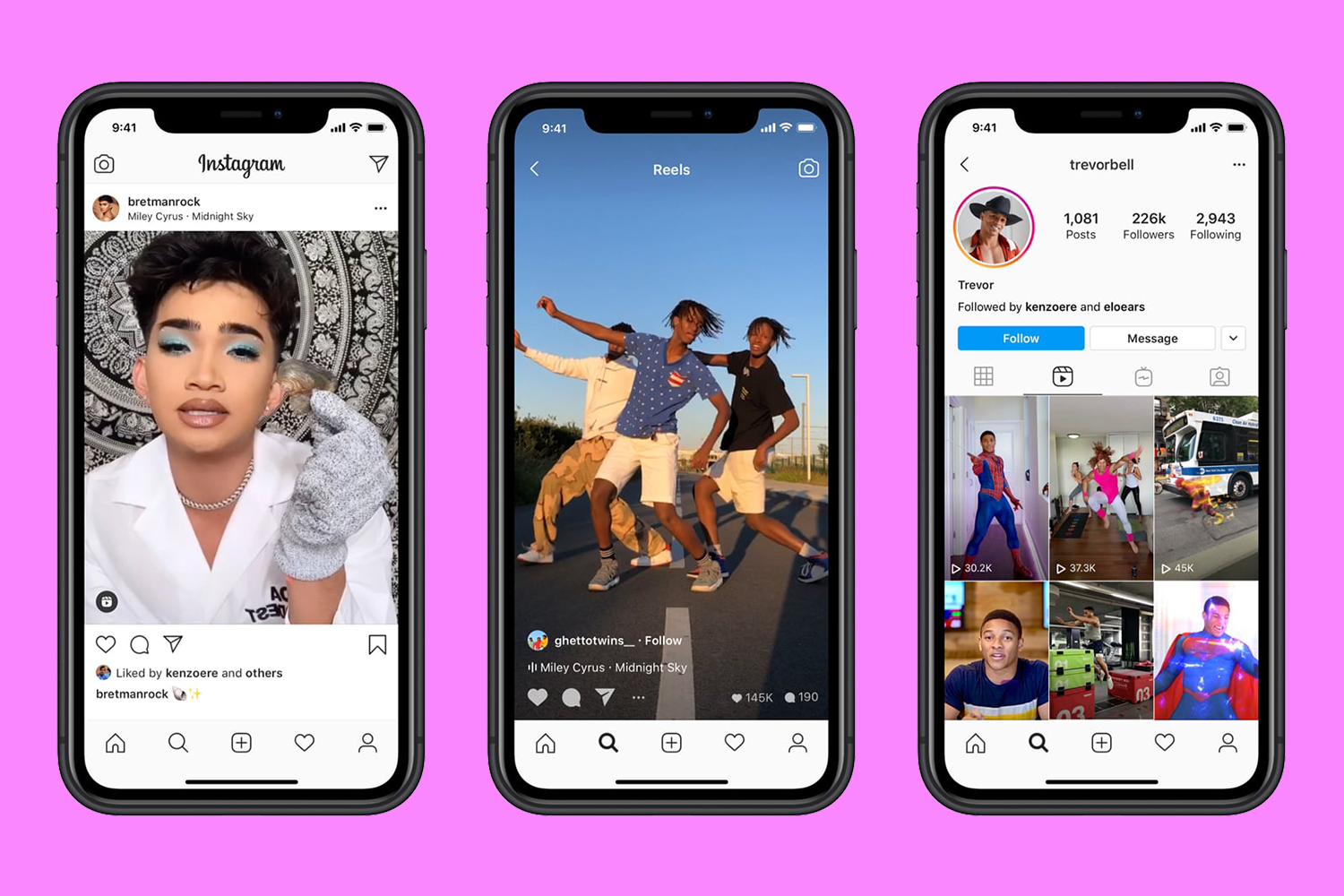 Facebook Launches Tiktok Competitor Instagram Reels