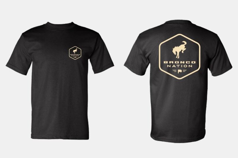 T-shirt Bronco Nation