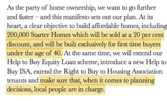 Tory manifesto 13th April Jules Birch blog