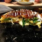 Okonomiyaki savoury pancake