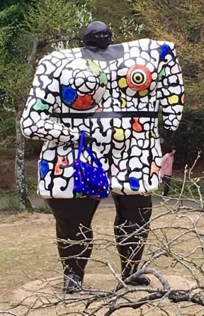 Artwork at Hakone's open-air sculpture park
