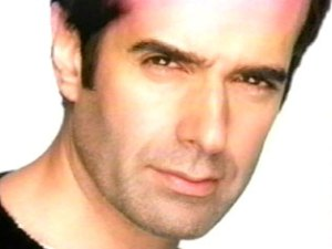 Inside Magic Image of World Famous Magician David Copperfield