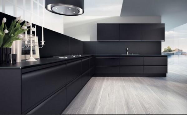 Arredamento nero opaco e velluto la casa dei miei sogni