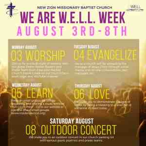 We Are Well Week ad