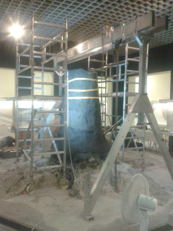 Fossiele Carbon Boom | tijdens werkzaamheden | Bergbau Museum Bochum