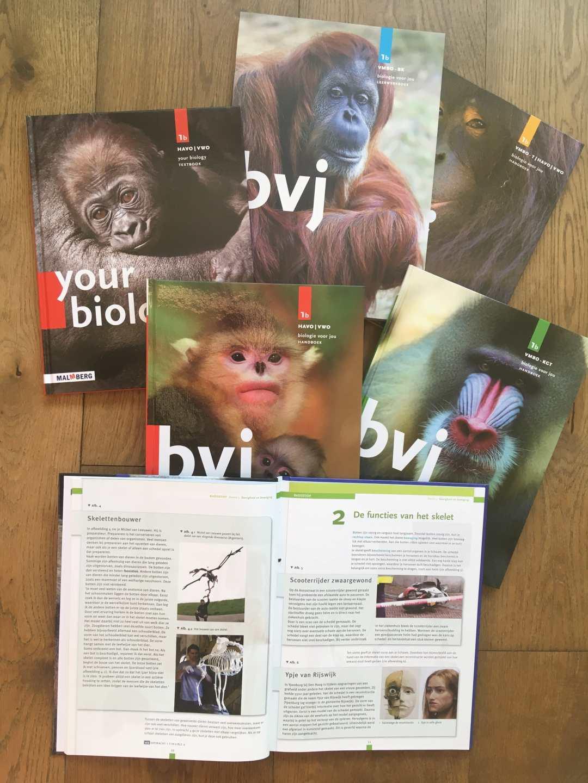 Expo & Educatie | Biologie voor Jou | Schoolboeken
