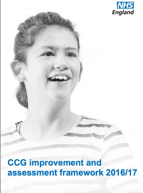 CCG Improvement & Assessment Framework