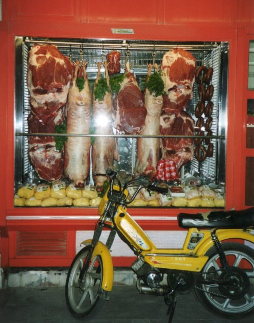 Berg 06 Butcher shop window