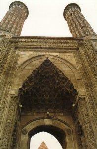 The famous cift minare, Erzerum.
