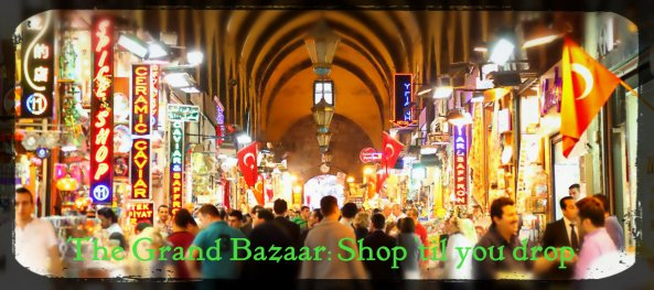 Enter the Aladdin's Cave of the Grand Bazaar Istanbul!