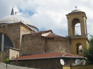The rear of the Surp Krikor Church in Kuzguncuk