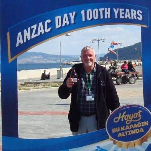 A traditional Anzac Day celebration - with a beer of course!