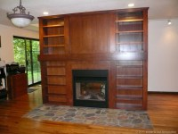 Bellevue Fireplace and Library   Inside & Out Renovation