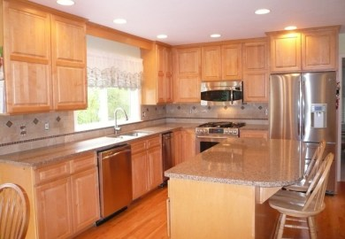 How To Match Kitchen Cabinets Countertops And Flooring