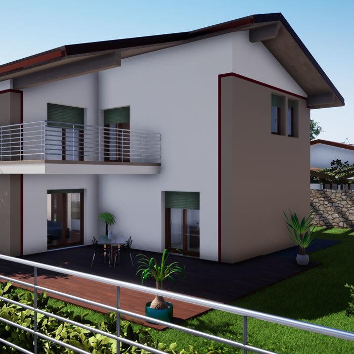 Le case in legno sono curate nei dettagli e non bisognerà rinunciare nè a comfort nè al design. Case Prefabbricate In Legno Abitabili A Verona Inside Project