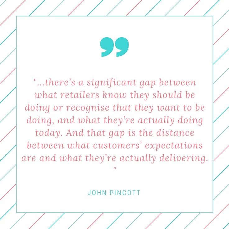 John Pincott Kibo quote omnichannel retail