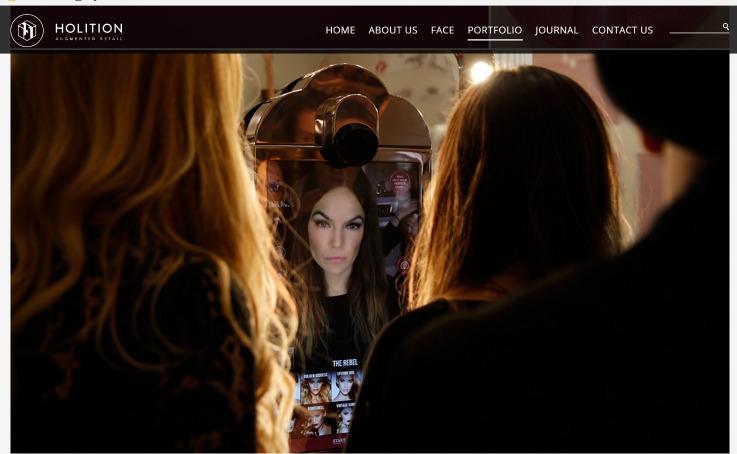 Charlotte Tilbury magic mirror retail technology