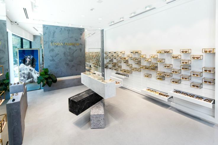 Linda Farrow store design
