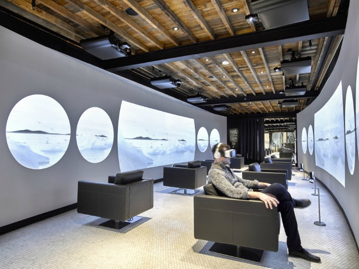 Flagship stores New York - electronics stores Samsung 837