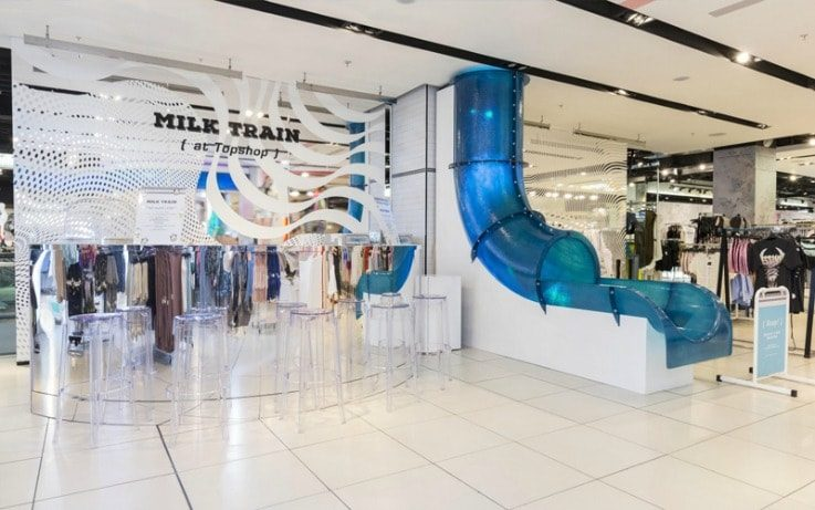Topshop retail technology trends VR