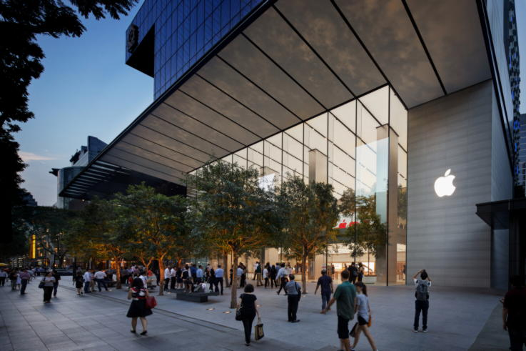 Apple - Physical Stores