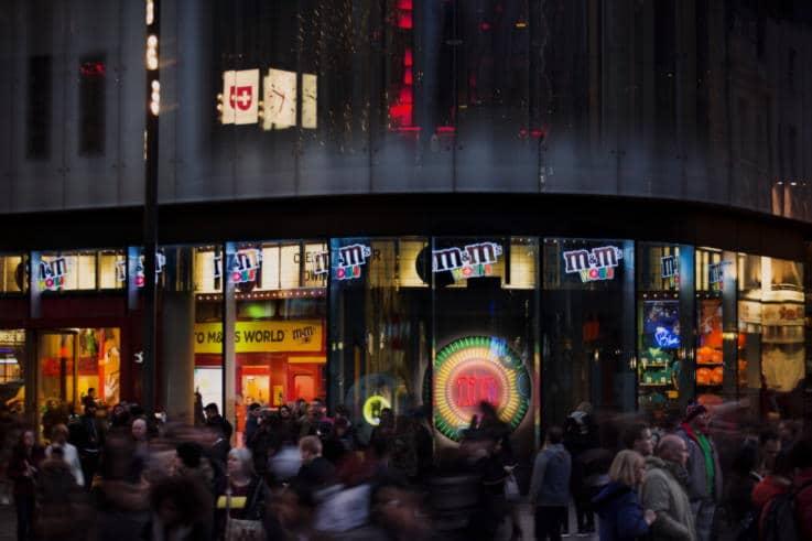 M&M's - Retail Space